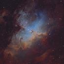 Eagle Nebula (RGBH - HOS),                                KuriousGeorge