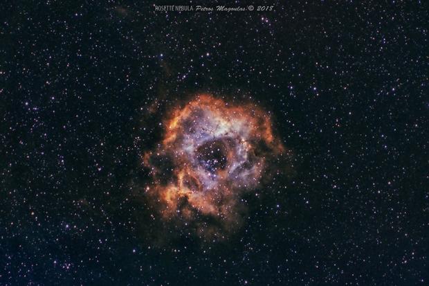 Rosette Nebula,                                pemag