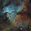NGC 6188 Dragons of Ara and NGC 6164 Emission Nebula,                                Carlos Taylor