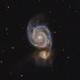 M51 - Whirlpool Galaxy,                                ebomber