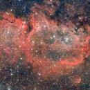 Seelennebel, Embryo Nebula, IC1848,                                Gerhard Aschenbrenner