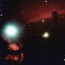 Horse Head Nebula and the Flame Nebula,                                Noël Donnard