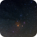 Rho Ophiuchi and Antares,                                Mikeebee
