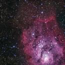 M8 Lagoon Nebula,                                Donato Calo