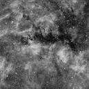 Reflexion Nebula NGC6914 in Hα widefield,                                Jose Carballada
