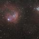 Gabriela Mistral Nebula (NGC 3324) & NGC 3293 Open Cluster :-),                                Daniel Nobre