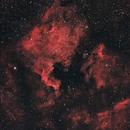 North America & The Pelican Nebula Canon FD 200mm,                                Christiaan Berger