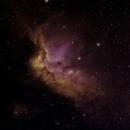 NGC 7380 Wizard Nebula in modified HSO,                                Aaron Freimark