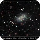 NGC 925, Dim Barred Spiral in Triangulum, 25 Sep 2014,                                David Dearden