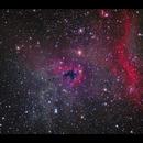 Bogeyman Nebula LN1622 - last image from the south Pacific,                                Göran Nilsson