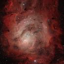 M8 - Lagoon Nebula,                                Bob Stewart