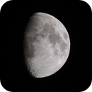 Nine-Day-Old Moon, May 31, 2020,                                AlenK