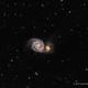 The Whirlpool Galaxy,                                Scott