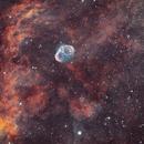 Crescent and Soap Bubble Nebulae,                                Nicolas Kizilian