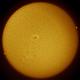 Rare Sunspot during Solar Minimum,                                Garrett Burud