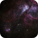 Eta Carinae - 1st image with new ES ED102 & Canon 6D no FFFR,                                KiwiAstro