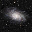M33 Triangulum,                                IDDAN