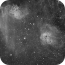 IC 405 (Flaming Star Nebula) - IC 410,                                remidone