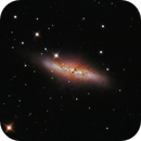 M 82: Cigar Galaxy,                                ErklueAstro