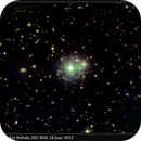 NGC 6543, Cat's Eye Nebula, OSC RGB, 18 June 2015,                                David Dearden
