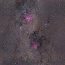 Milchstraße mit Eta Carinae und Running Chicken,                                Mario Richter