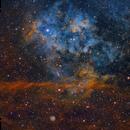 Sh2-115 & Sh2-116 In Cygnus (SHO-RGB),                                Alberto Pisabarro