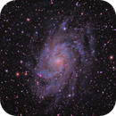 M33 The Triangulum Galaxy,                                rveregin
