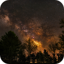 April Milky Way - Single Shot During Power Outage,                                David McGarvey