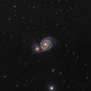 M51 - Galaxie du Tourbillon,                                Vincent R.