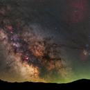 Milky Way 12/05/2021,                                Łukasz Żak