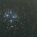 Pleiades first light 135mm,                                Stradam