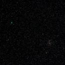 Comet C/2018 Y1 Iwamoto + Messier 44 - Praesepe,                                AC1000