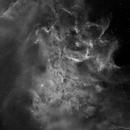 IC405 Flaming Star Mono,                                rayp