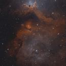 The soul of the soul nebula, LBN 673,                                Steven Bellavia