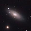 NGC2841 LRGB - A Closer Look,                                andrea tasselli