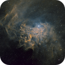Flaming Star Nebula IC405 SHO,                                Hartmuth Kintzel