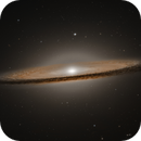 M104 - The Sombrero Galaxy - Hubble Archive,                                David Webster