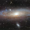 Andromeda Galaxy (M31),                                Wirrkopf