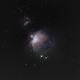 M42 - the Orion Nebula,                                Morsing