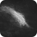 NGC 1499 - California Nebula - Halpha only,                                Jonas Illner