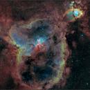 IC1805 The Heart Nebula (4 Panel Mosaic),                                Randal Healey