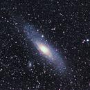 The Andromeda Galaxy (M31) untracked,                                Olga W. Ismael