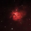 "Sh2 222 Hydrogen Alpha RGB AKA NGC 1579 and the ""Trifid of the North"",                                jerryyyyy"