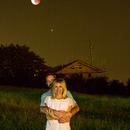 Old photo of Eclipse Moon,                                Davide Bombonato