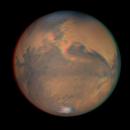 MARS 2020 - rotation in analog 3D (anaglif red-cyan),                                Łukasz Sujka