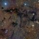 Dark nebula -  LDN673  in Aquila,                                Arnaud Peel
