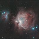 M42 Orion Nebula,                                S. DAVID