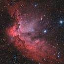 Sh2-142 - Wizard Nebula,                                Riccardo Balia