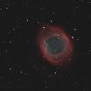 helix nebula NGC 7293,                                Enrico Scheibel