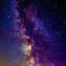 via lattea da col del nivolet 2612m.  agosto 2004,                                Carlo Colombo
